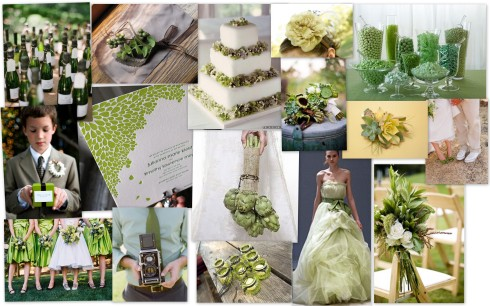 inspiration board green