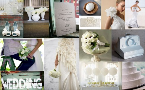 inspiration board white