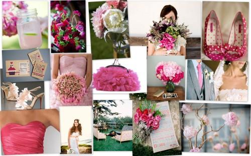 inspiration board pink